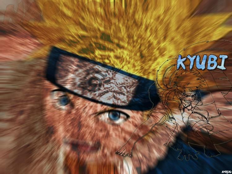 Fonds d'écran Manga Naruto Naruto kyubi