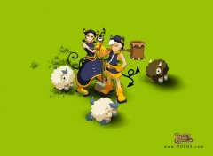 Wallpapers Video Games DOFUS - Jeu de rôle massivement multijoueur sur Internet - www.DOFUS.com