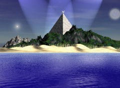 Wallpapers Digital Art Pyramide