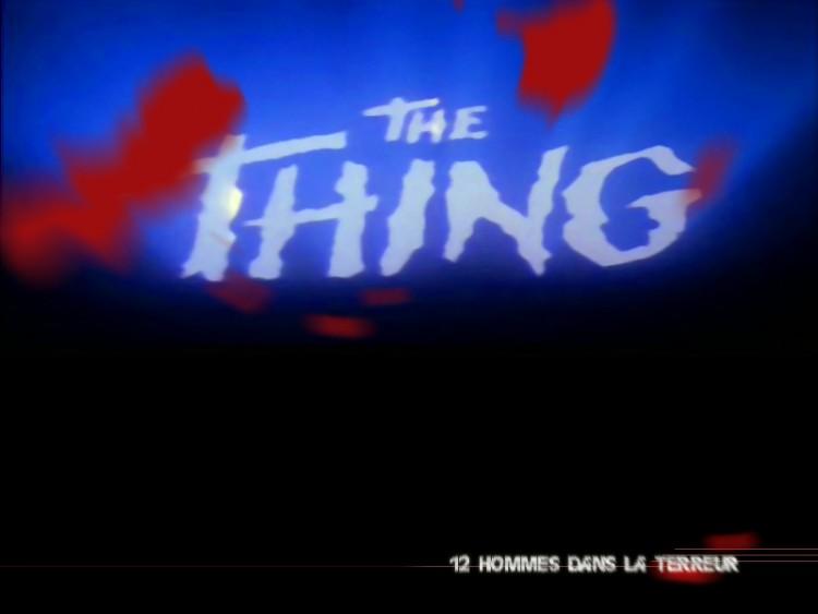 Fonds d'écran Cinéma The Thing the thing
