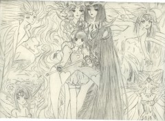 Wallpapers Art - Pencil Sakura et ses cartes