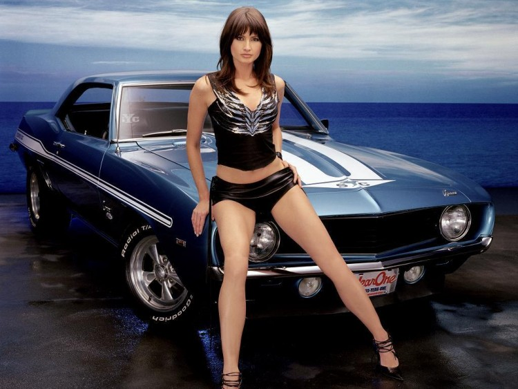 wallpapers cars > wallpapers girls and cars muscle carrio