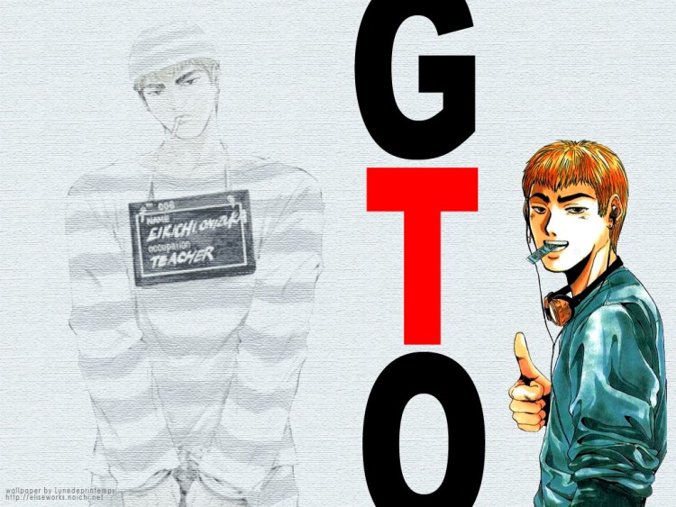 Fonds d'écran Manga Gto - Great Teacher Onizuka Onizuka