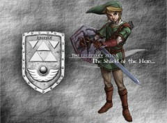 Wallpapers Video Games Shield of Link