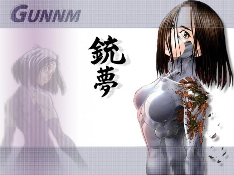 Fonds d'écran Manga Gunnm wallpaper-1-gunnm.jpg