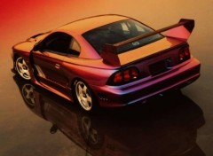 Wallpapers Cars Ford Mustang Rio Red