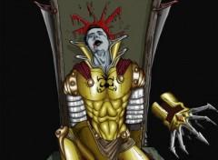 Fonds d'écran Art - Numérique le roi est encore mort...
