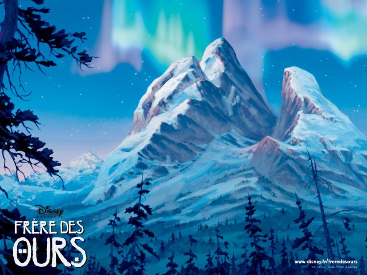 Wallpapers Cartoons Wallpapers Brother Bear Montagne Des