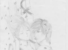 Fonds d'écran Art - Crayon Does the real love exist?