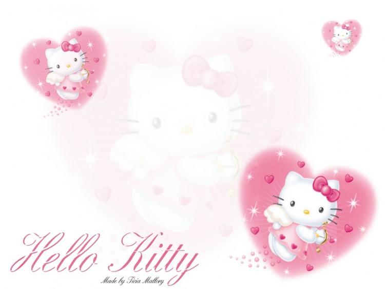 Wallpapers Cartoons Hello Kitty Kitty pink