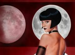 Fonds d'écran Art - Numérique fly me to the moon