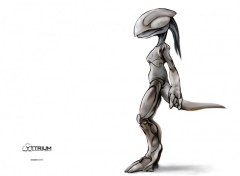 Wallpapers Digital Art .yttrium - advanced xenosaurian biomech