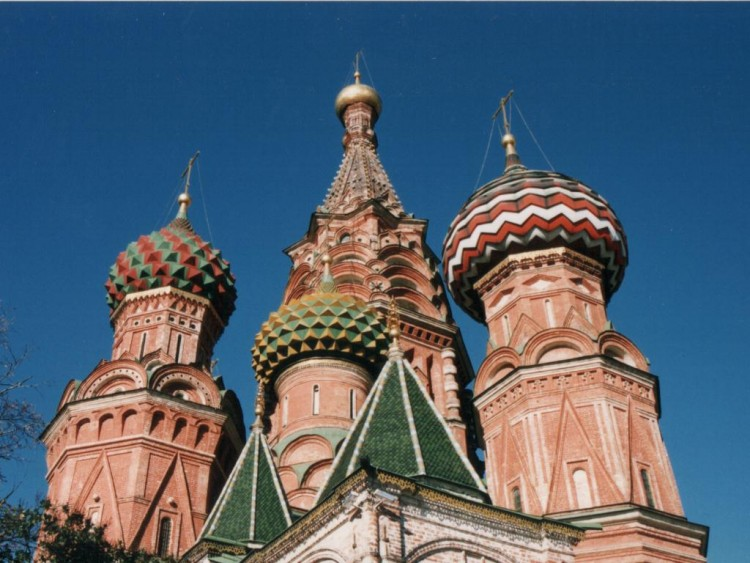 Wallpapers Trips : Europ Russia Moscou - St Basile
