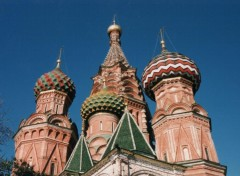 Wallpapers Trips : Europ Moscou - St Basile