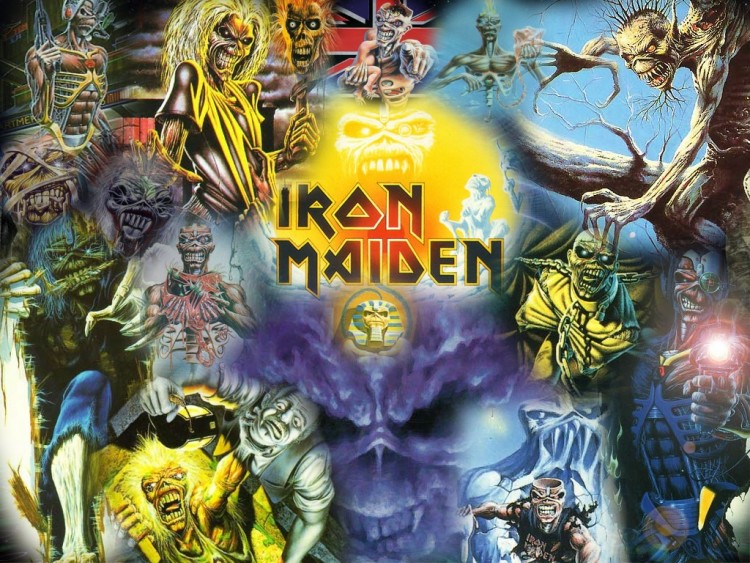 Wallpapers Music Iron Maiden a lot of Maiden