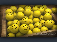 Fonds d'écran Art - Numérique Smiley