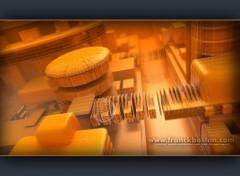 Fonds d'écran Art - Numérique Orange town