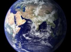 Wallpapers Space La terre- Hémisphère Est