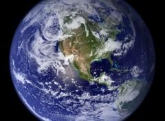 Wallpapers Space La terre- Hémisphère Ouest