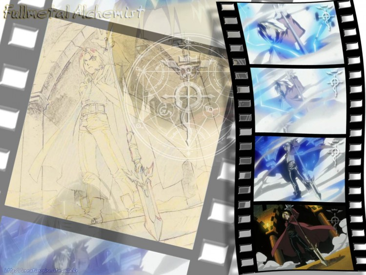 Wallpapers Manga Full Metal Alchemist Lance transmutée....