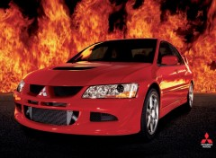 Wallpapers Cars Mitsubishi Lancer Evolution 7