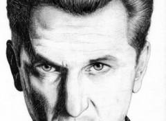 Fonds d'écran Art - Crayon Sean Penn
