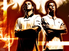 Wallpapers Sports - Leisures Safin et Guga