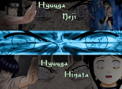 Wallpapers Manga Hinata VS Neji