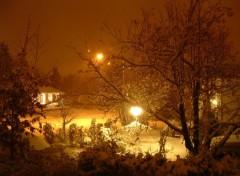 Fonds d'écran Nature première neige a Rimouski