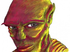 Fonds d'écran Art - Crayon Air méchant