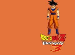 Fonds d'écran Jeux Vidéo Dragon Ball Z Budokai 3 : Goku