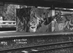 Fonds d'écran Art - Peinture Gare La Chapelle - Bruxelles