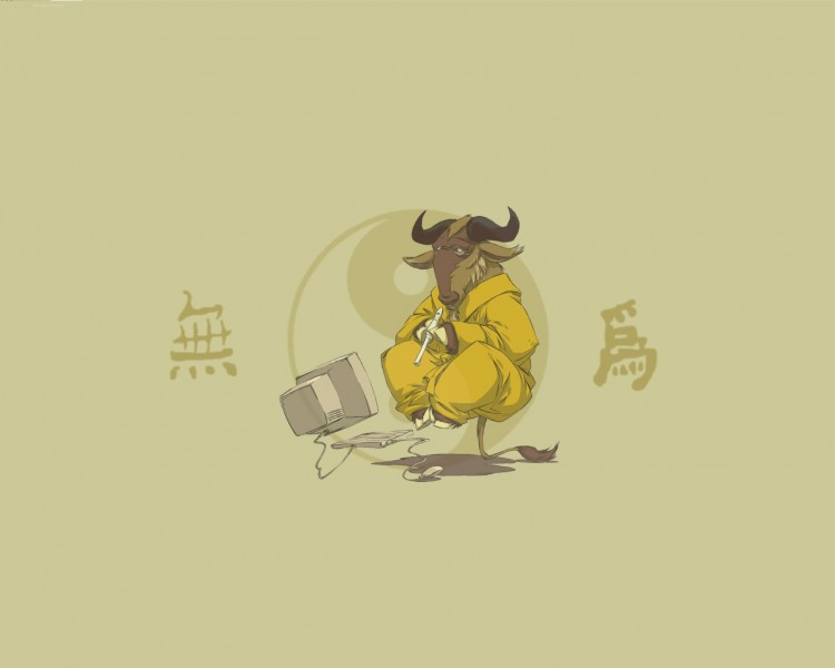 Wallpapers Digital Art Style Asian Wu Wei Gnu