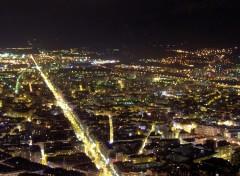 Fonds d'écran Voyages : Europe grenoble la nuit