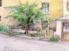 Fonds d'écran Art - Crayon Place Choëmet