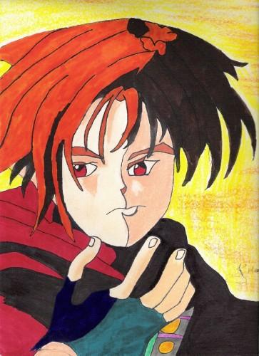 Fonds d'écran Art - Crayon Manga - Personnages mangas