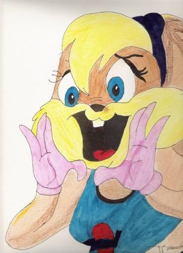 Fonds d'écran Art - Crayon Dessins animés - Bugs Bunny a mes moments perdus