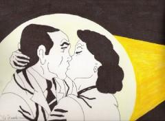 Fonds d'écran Art - Crayon c\'est beau l\'amour