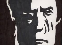 Fonds d'écran Art - Crayon deviner qui est ce?