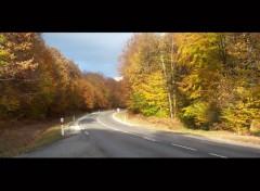 Fonds d'écran Voyages : Europe Route dans le Jura