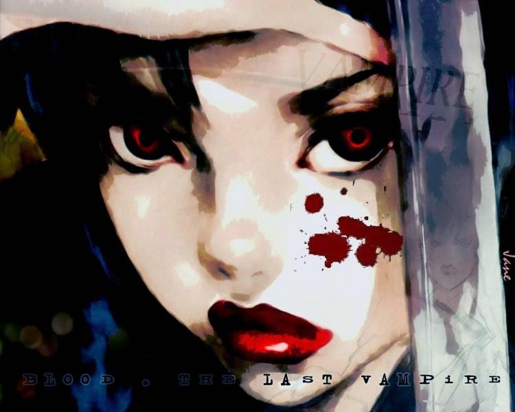 Wallpapers Cartoons Blood : The Last Vampire Saya