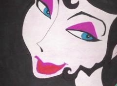 Fonds d'écran Art - Crayon visage