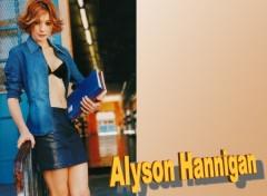 Fonds d'écran Célébrités Femme Alyson Hannigan