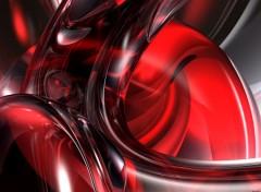 Fonds d'écran Art - Numérique Red Fluidity