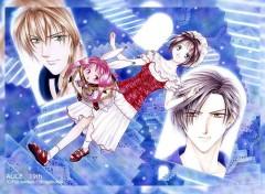 Fonds d'écran Manga Frey,Nyozéka,Kyo,Alice