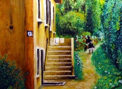 Fonds d'écran Art - Peinture Cueillette