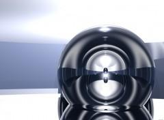 Fonds d'écran Art - Numérique Simple Sphère