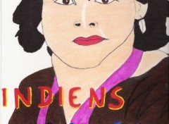 Fonds d'écran Art - Crayon indien