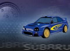Fonds d'écran Art - Numérique Subaru Sti