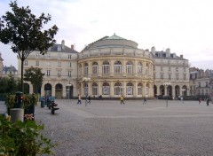 Fonds d'écran Voyages : Europe Rennes- place de la mairie